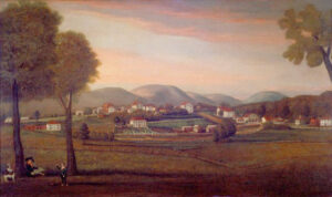 Old Bennington Painting by Ralph Earl